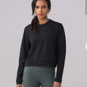 Lululemon space crew pullover size M